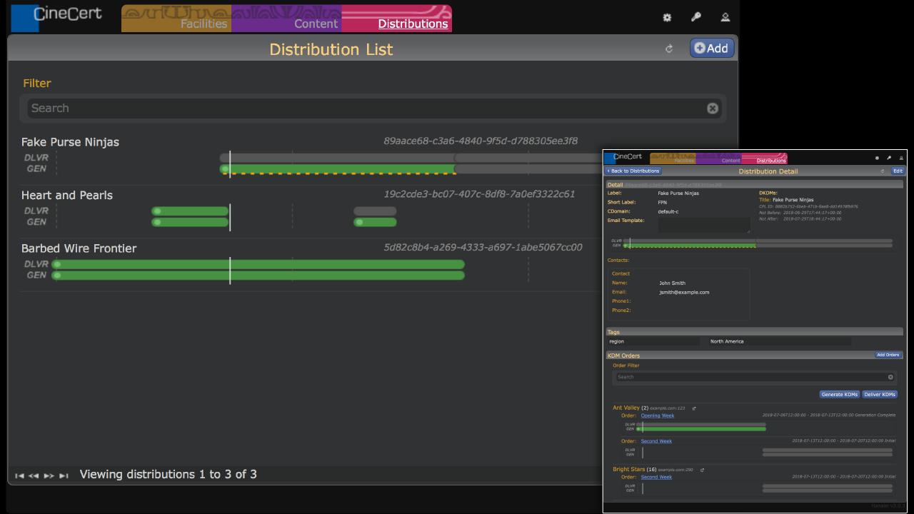 Hanalei Distribution View Screenshots